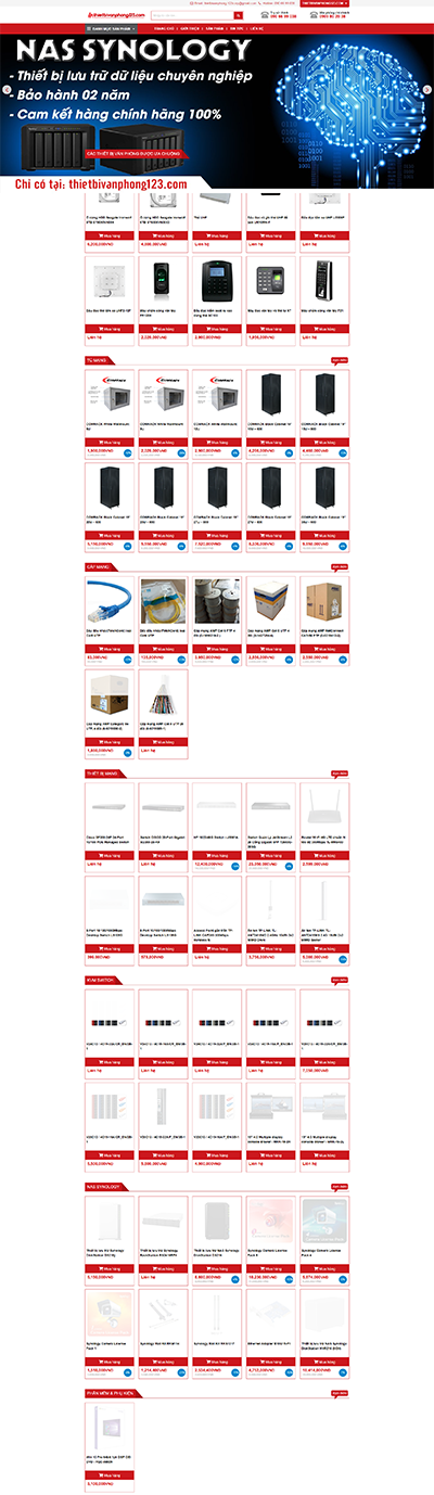 website-kinh-doanh-thiet-bi-van-phong-123corp